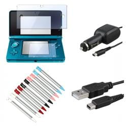 Cable/ Stylus/ Screen Protector/ Car Charger for Nintendo 3DS