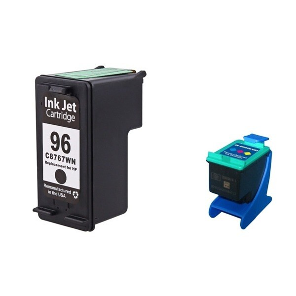 INSTEN HP 96/ 97 Black/ Color Ink Cartridge Set (Remanufactured)