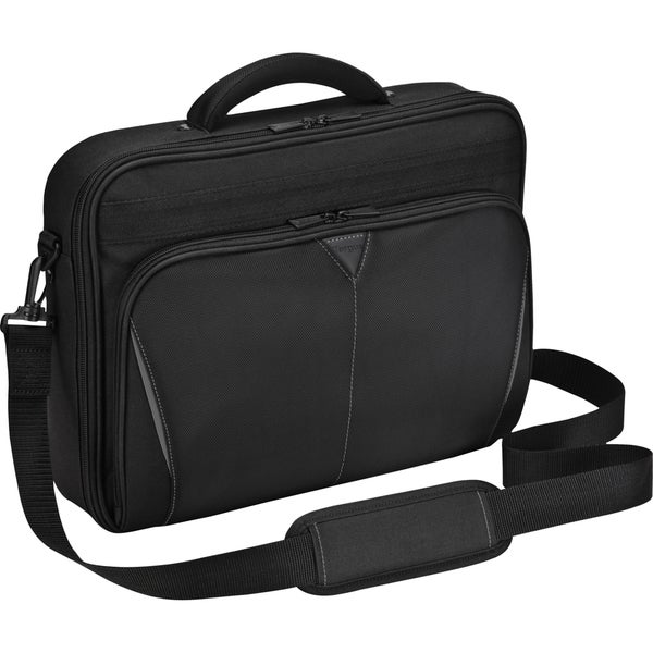 "Targus CN616US Carrying Case (Briefcase) for 16"" Notebook - Black, Re"