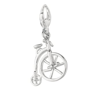 Sterling Silver Old Style Bicycle Charm
