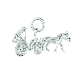 Sterling Silver Central Park Buggy Charm