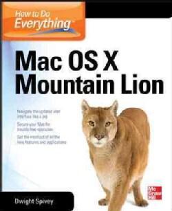 How to Do Everything MAC, OS X Mountain Lion (Paperback)