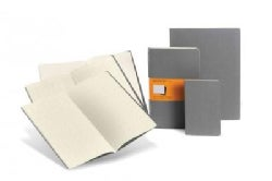 Moleskine Cahiers Light Warm Grey Pocket Squared Journals (Notebook / blank book)