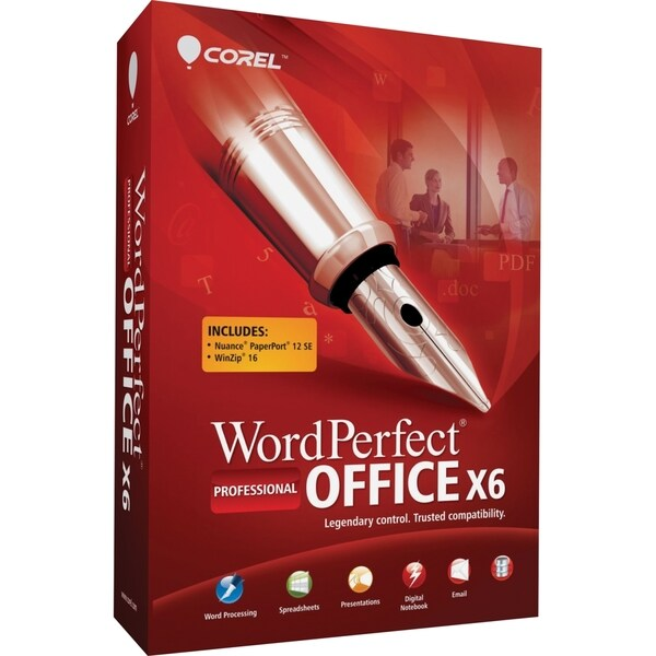 Corel WordPerfect Office v.X6 Professional Edition - Complete Product