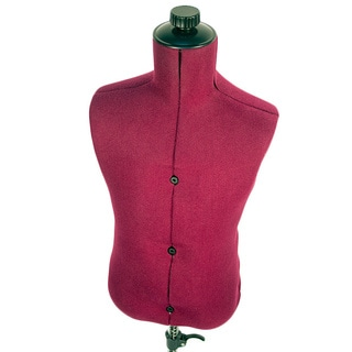 Family Adjustable Child-size Maroon Nylon Mannequin Dress Form
