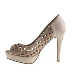 Refresh By Beston Women's MANDY-02 Stiletto Peep Toe Heels