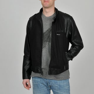 Member's Only Men's Black Jean Racer Jacket