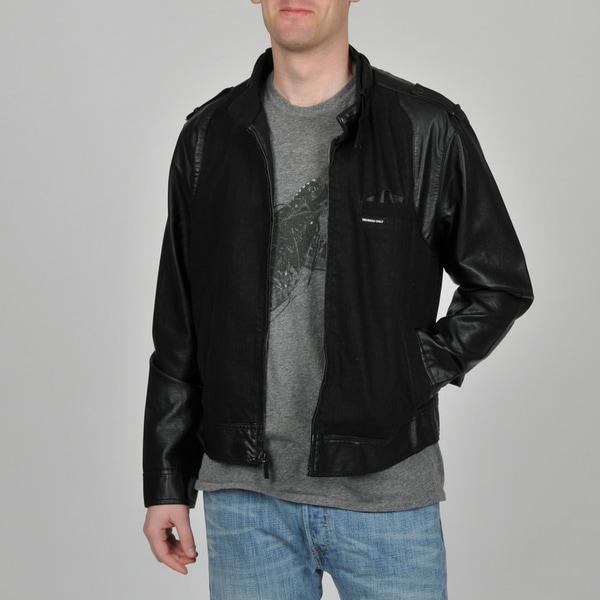 Member's Only Men's Black Jean Racer Jacket