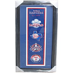 Texas Rangers Logo Nylon Panoramic Frame