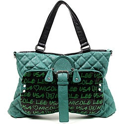 Nicole Lee Audrina Sequined Quilted Shopper Bag