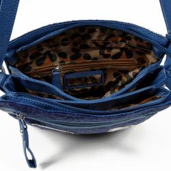 Nicole Lee Dana Crossbody Faux-leather Bag with Animal Print