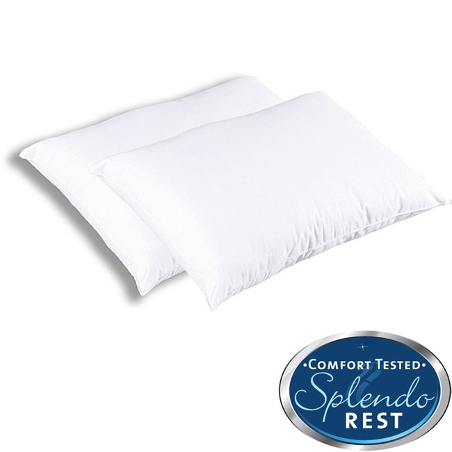 Splendorest ProTech Allergen Barrier Jumbo Bed Pillow (Pack of 2) at Sears.com