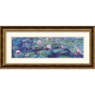 Claude Monet 'Waterlillies' Framed Art Print