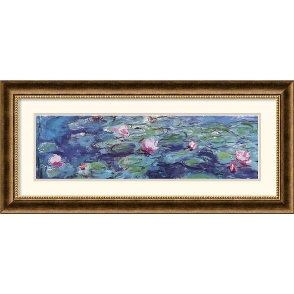 Claude Monet 'Waterlillies' Framed Art Print