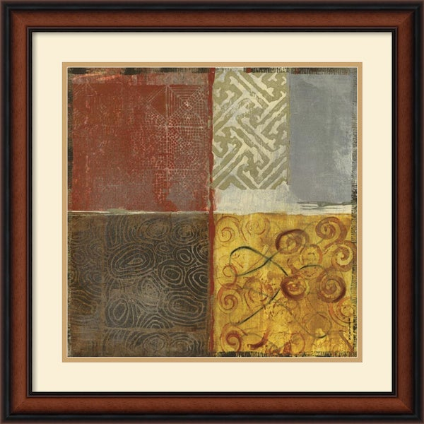 Jennifer Hollack 'Pattern Luck II' Framed Art Print