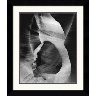 Hills 'Slot Canyon Swirls I' Framed Art Print