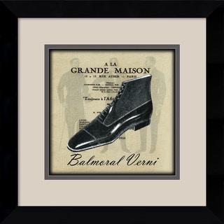 Susan W. Berman 'Grande Maison III' Framed Art Print