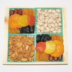 Sunshine Dried Fruit And Nuts Gift Crate