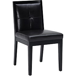 Sunpan Paxton Dining Chair with Faux-Leather Upholstery (Set of Two)