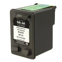 HP 21/ C9351AN Black Ink Cartridge (Remanufactured)