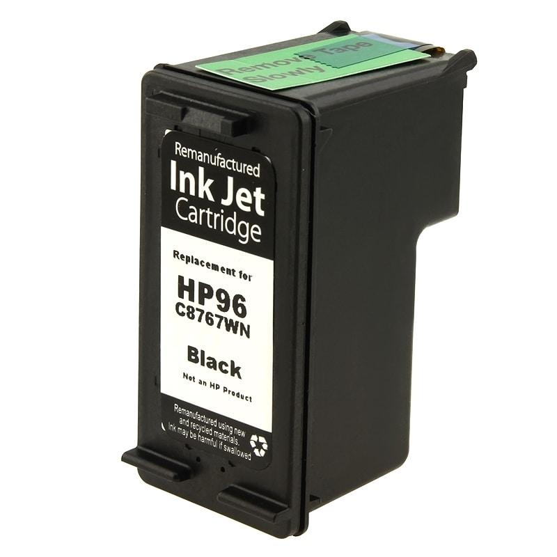 INSTEN HP 96/ C8767WN Black Ink Cartridge (Remanufactured)