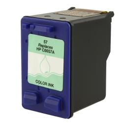 HP 57/C6657AN Tri-color Ink Printer Cartridge (Remanufactured)