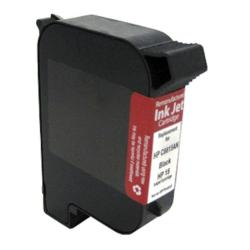 HP InkJet 15/C6615DN Black Ink Cartridge (Remanufactured)