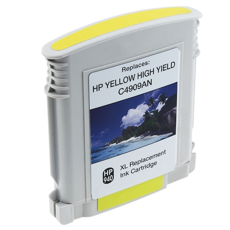 INSTEN HP 940XL/ C4909AN/ C4905AN Yellow Ink Cartridge (Remanufactured)