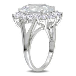 M by Miadora Sterling Silver 11 1/2ct TGW Cubic Zirconia Fashion Ring