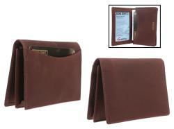 Men's 'Chamoix' Leather Credit Card Holder