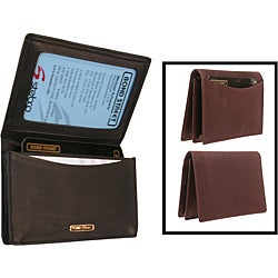 Men's 'Chamoix' Leather Credit Card Holder