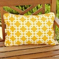 Penelope Yellow Indoor/ Outdoor Pillows (Set of 2)