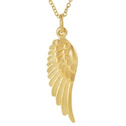 Tressa Gold over Silver Wing Necklace