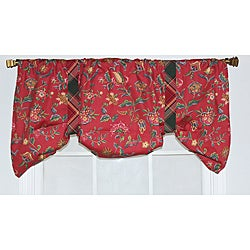Norwell Suspender Floral Valance