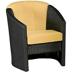 Riviera Harvest Barrel Accent Chair