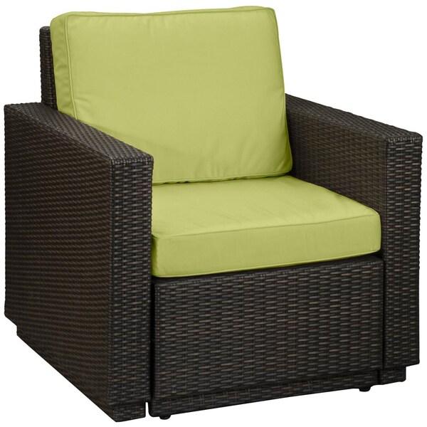 Riviera Green Apple Arm Chair
