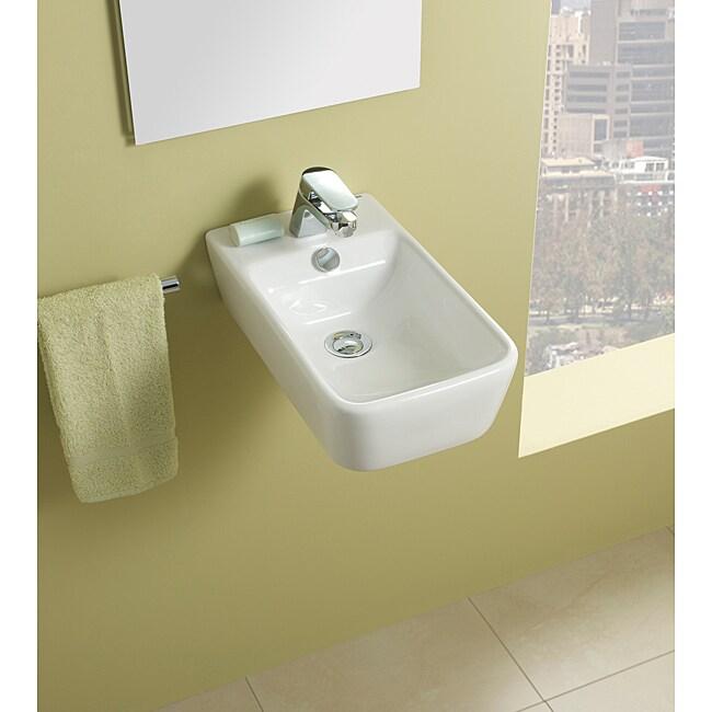 Bissonnet Emma Bathroom Ceramic Sink