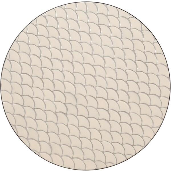 Fishtail Tile Top Bistro Table