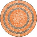 Terra Cotta Sandstone Tile Top Bistro Table