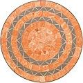 Terra Cotta Sandstone Tile Top Bistro Table