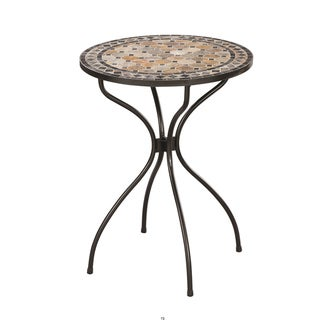 Marble High Top Bistro Table