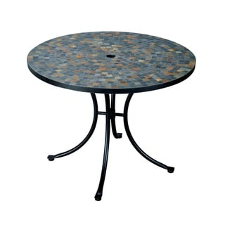 Home Styles Stone Harbor Round Dining Table