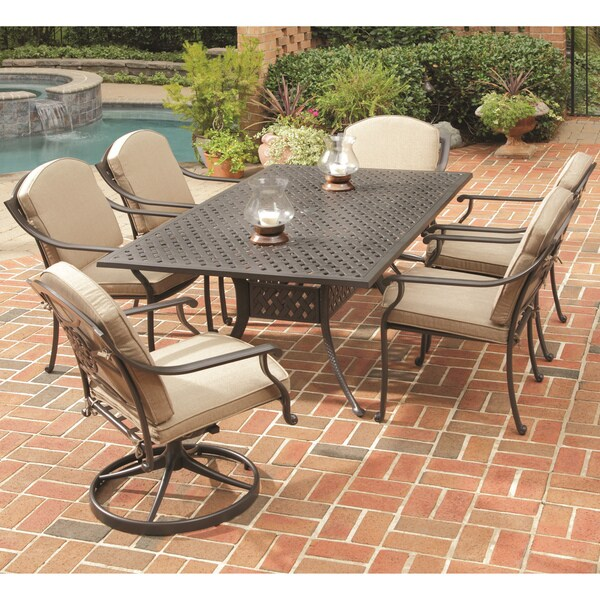 Home Styles Covington 7-piece Dining Set