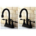High Spout Oil Rubbed Bronze Bathroom Faucet