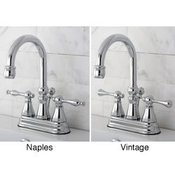 High Spout Chrome Bathroom Faucet