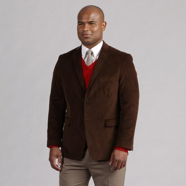 Adolfo Men's Brown Corduroy Sportcoat
