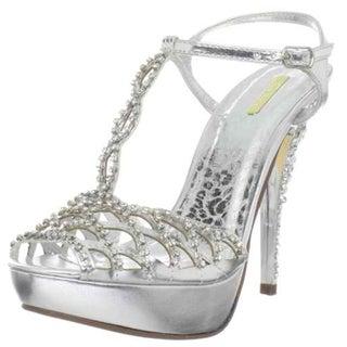 Celeste Women's 'Mimi-12' Silver 'High Heels