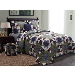 American Dark 5-piece Quilt Set