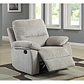 Corbridge Light Beige Chenille Recliner