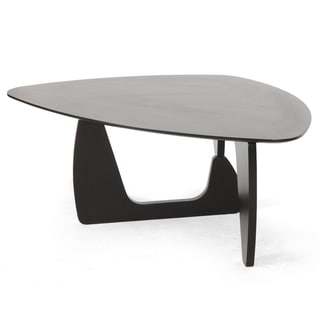 Hoover Dark Brown Modern Coffee Table